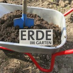 Erde im Garten